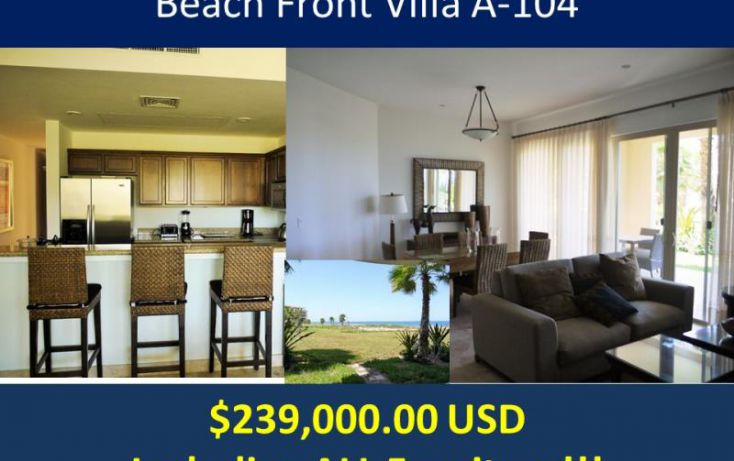 Foto de departamento en venta en palmeras, paraíso del mar, la paz, baja california sur, 1345573 no 01