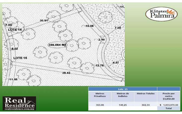 Foto de terreno habitacional en venta en palmira 99 , palmira tinguindin, cuernavaca, morelos, 2011264 No. 11
