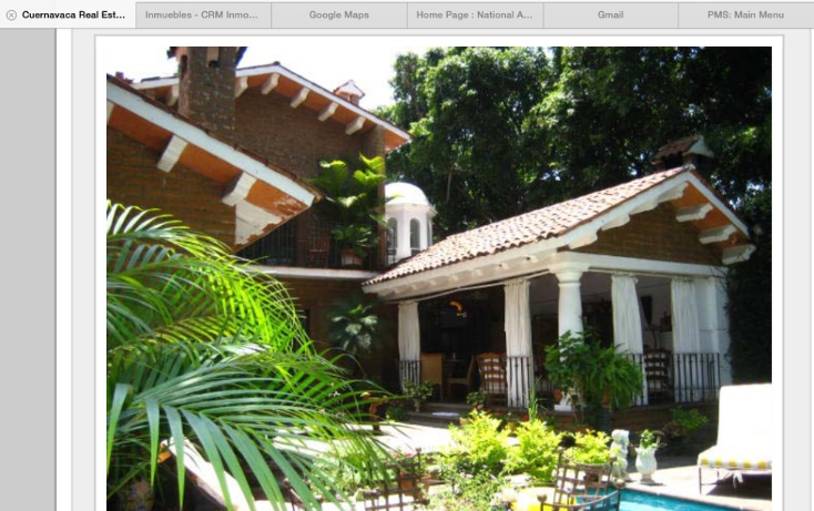 Foto de casa en venta en  , palmira tinguindin, cuernavaca, morelos, 947315 No. 02