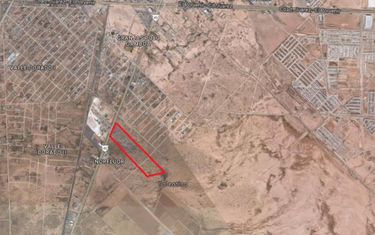 Foto de terreno habitacional en venta en  , panamericana unidad, juárez, chihuahua, 1180727 No. 01