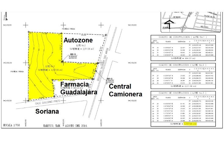 Foto de terreno comercial en venta en  , panuco centro, pánuco, veracruz de ignacio de la llave, 1074975 No. 02