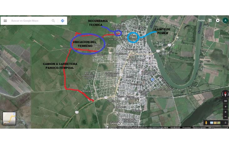 Foto de terreno habitacional en renta en  , panuco centro, pánuco, veracruz de ignacio de la llave, 2006312 No. 02