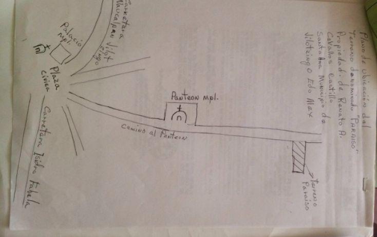 Foto de terreno habitacional en venta en paraiso 9 de septiembre, santa ana jilotzingo, jilotzingo, estado de méxico, 1769370 no 12