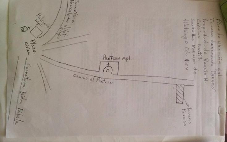 Foto de terreno habitacional en venta en paraiso (9 de septiembre) , santa ana jilotzingo, jilotzingo, méxico, 1769370 No. 12