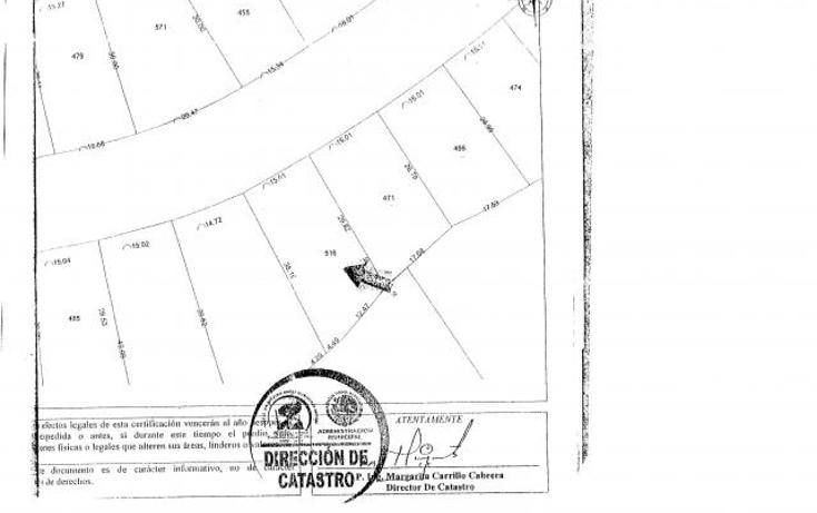 Foto de terreno habitacional en venta en  , paraíso country club, emiliano zapata, morelos, 1396635 No. 03