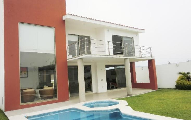 Foto de casa en venta en  , paraíso country club, emiliano zapata, morelos, 389167 No. 01