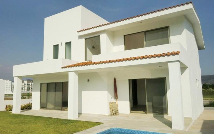Foto de casa en venta en  , para?so country club, emiliano zapata, morelos, 390889 No. 01