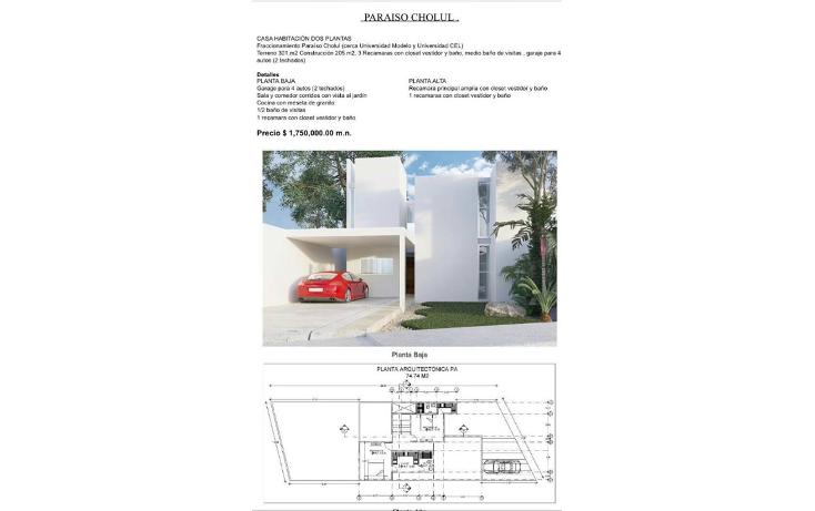 Foto de casa en venta en  , para?so las margaritas, m?rida, yucat?n, 2011518 No. 02