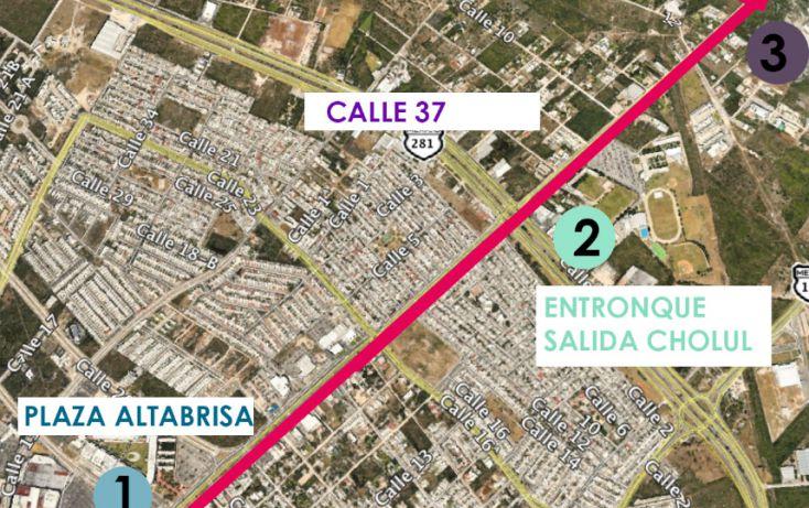 Foto de terreno habitacional en venta en, paraíso, mérida, yucatán, 1674596 no 03