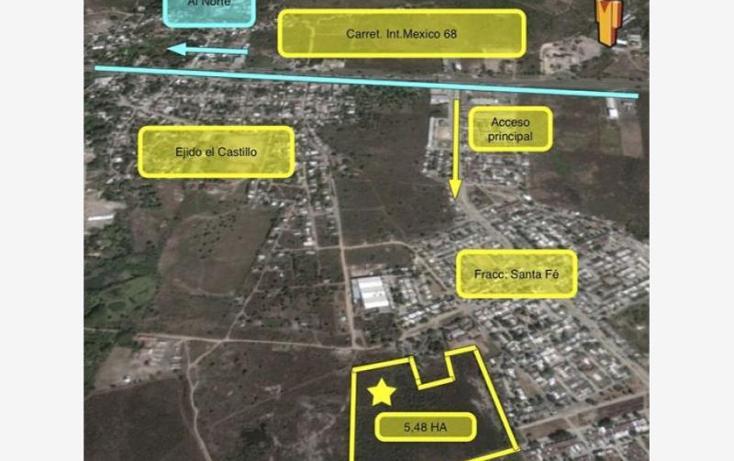 Foto de terreno comercial en venta en parcela #100 p1/1, el castillo, mazatlán, sinaloa, 1341755 No. 05