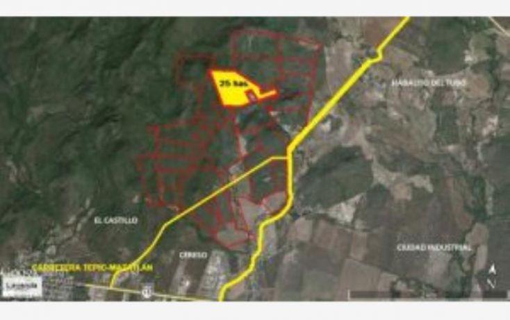 Foto de terreno industrial en venta en parcela 141 141, el castillo, mazatlán, sinaloa, 1763612 no 01