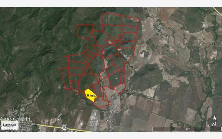 Foto de terreno industrial en venta en camino al habalito del tubo parcela 24, el castillo, mazatlán, sinaloa, 1487657 No. 01