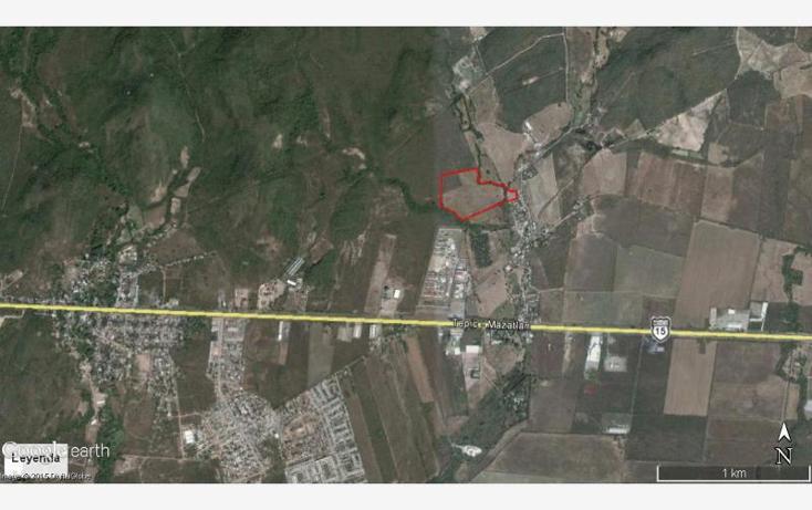 Foto de terreno industrial en venta en  parcela 25, el castillo, mazatlán, sinaloa, 1487643 No. 03
