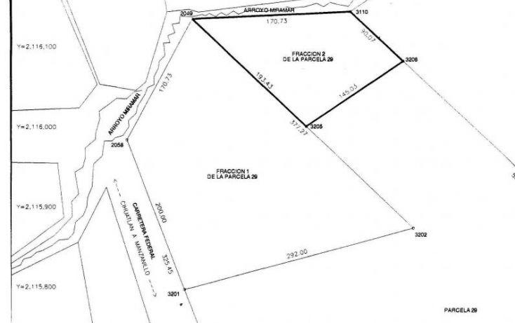 Foto de terreno habitacional en venta en parcela 29, ejido de miramar fraccion 2 29, ejidal miramar, manzanillo, colima, 1651905 no 04