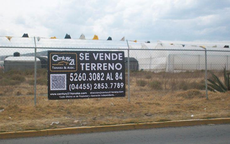 Foto de terreno habitacional en venta en parcela, san antonio el desmonte, pachuca de soto, hidalgo, 1713422 no 01