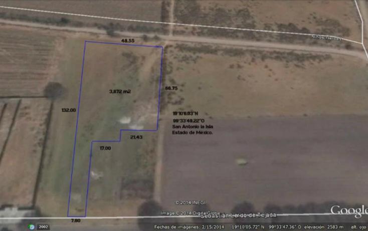 Foto de terreno habitacional en venta en parque de las ranas, san antonio la isla, san antonio la isla, estado de méxico, 866607 no 03