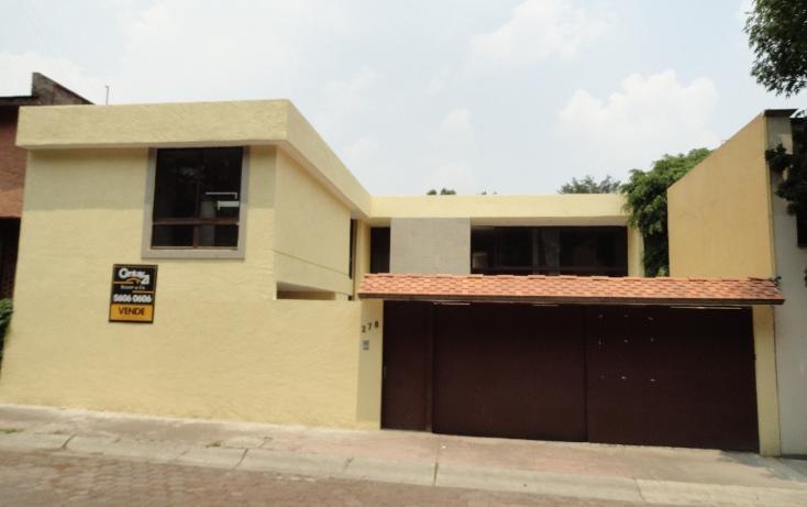Foto de casa en venta en  , parque del pedregal, tlalpan, distrito federal, 1911123 No. 01