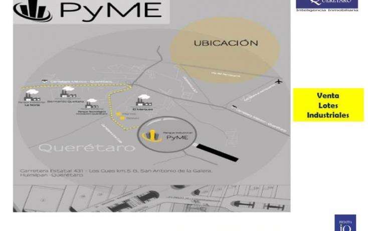 Foto de terreno industrial en venta en parque ind pyme  carr 431 los cues, la noria, el marqués, querétaro, 754235 no 07