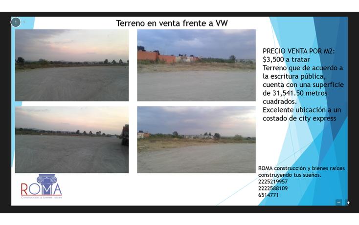 Foto de terreno habitacional en venta en  , parque industrial 5 de mayo, puebla, puebla, 1540649 No. 04
