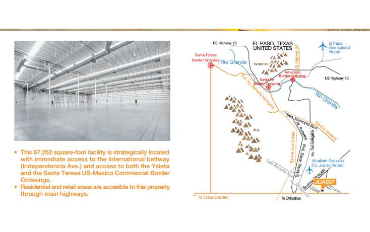 Foto de nave industrial en renta en  , parque industrial aerojuarez, juárez, chihuahua, 1113841 No. 02
