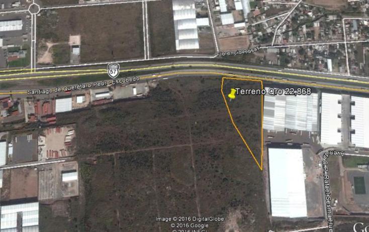 Foto de terreno comercial en venta en  , parque industrial bernardo quintana, el marqués, querétaro, 1119719 No. 02