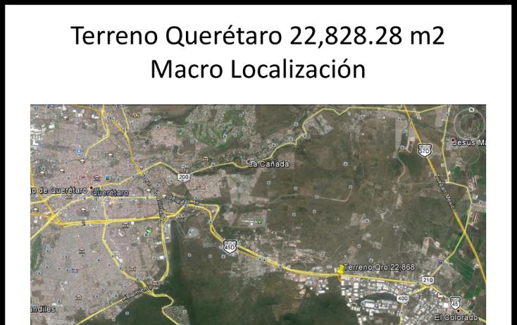 Foto de terreno comercial en venta en  , parque industrial bernardo quintana, el marqués, querétaro, 1119719 No. 03