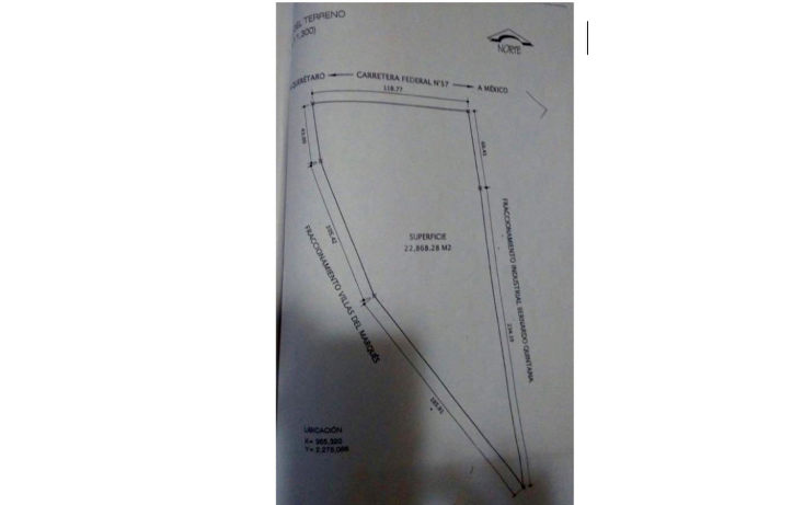 Foto de terreno comercial en venta en  , parque industrial bernardo quintana, el marqués, querétaro, 1119719 No. 04