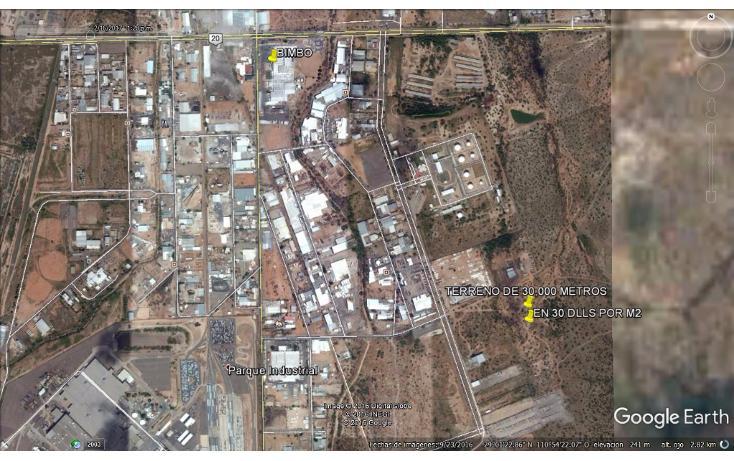 Foto de terreno industrial en venta en  , parque industrial, hermosillo, sonora, 2015244 No. 01