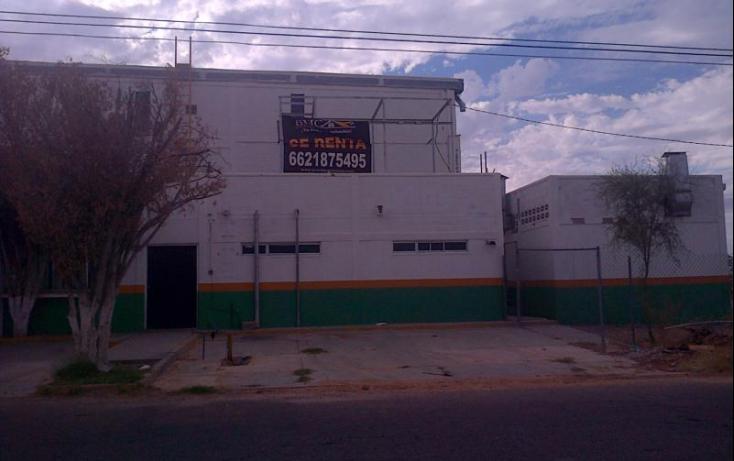 Foto de nave industrial en renta en, parque industrial, hermosillo, sonora, 684637 no 01