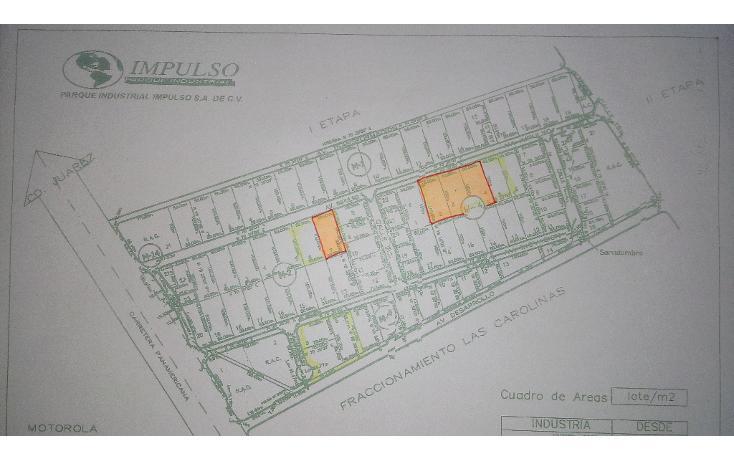 Foto de terreno industrial en venta en  , parque industrial impulso, chihuahua, chihuahua, 1354749 No. 04