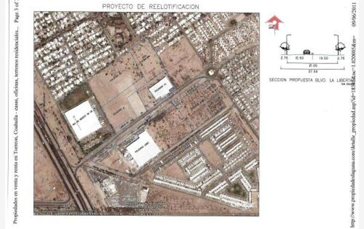 Foto de terreno industrial en venta en  , parque industrial la amistad, torreón, coahuila de zaragoza, 400813 No. 03