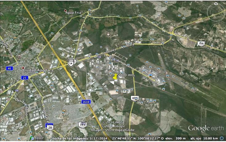 Foto de terreno industrial en venta en  , parque industrial milenium, apodaca, nuevo león, 1133069 No. 01
