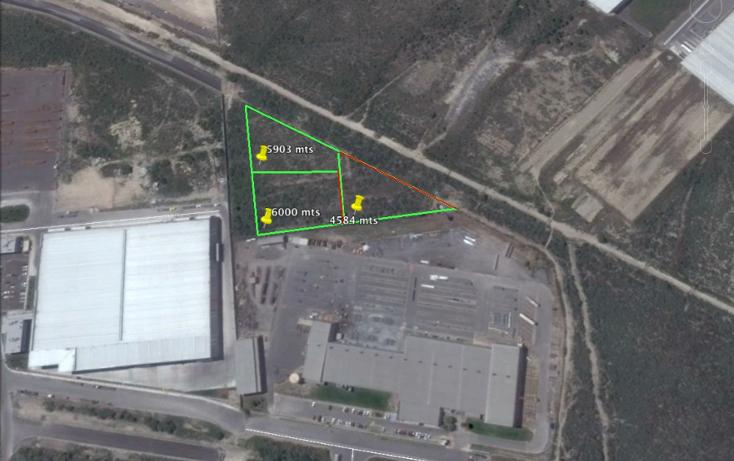 Foto de terreno industrial en venta en  , parque industrial milenium, apodaca, nuevo león, 1133069 No. 02