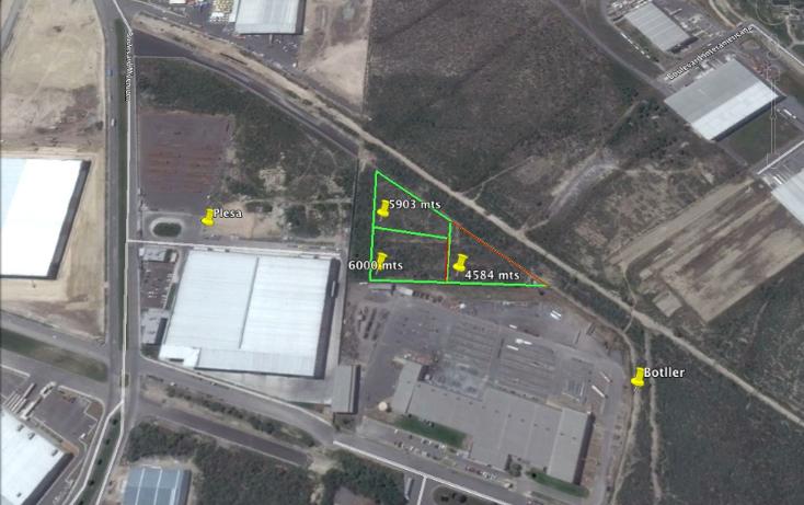 Foto de terreno industrial en venta en  , parque industrial milenium, apodaca, nuevo león, 1133069 No. 03