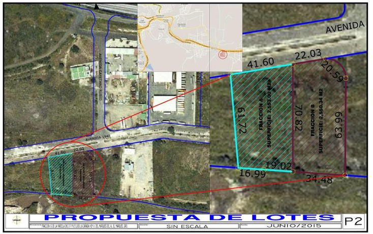 Foto de terreno industrial en venta en parque industrial miranda 1, san isidro miranda, el marqués, querétaro, 970981 No. 03