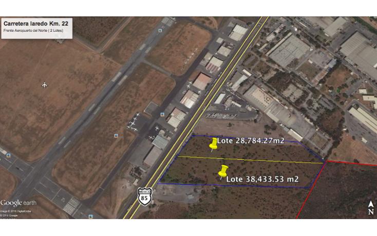 Foto de terreno industrial en venta en  , parque industrial multiparque aeropuerto, ciénega de flores, nuevo león, 2017516 No. 01
