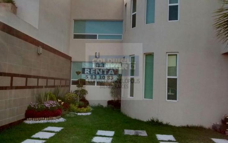 Foto de casa en condominio en renta en  , lomas de angelópolis ii, san andrés cholula, puebla, 1414087 No. 01