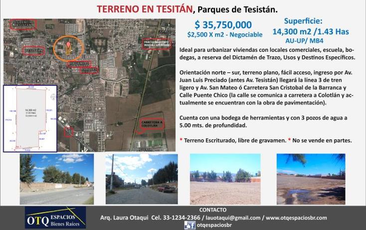 Foto de terreno habitacional en venta en  , parques de tesistán, zapopan, jalisco, 501127 No. 27