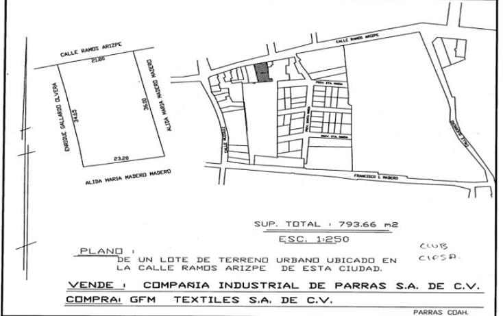 Foto de local en venta en  , parras de la fuente centro, parras, coahuila de zaragoza, 1728316 No. 05