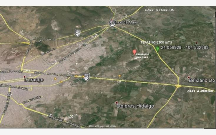 Foto de terreno comercial en venta en entronque , parras de la fuente, durango, durango, 491171 No. 01