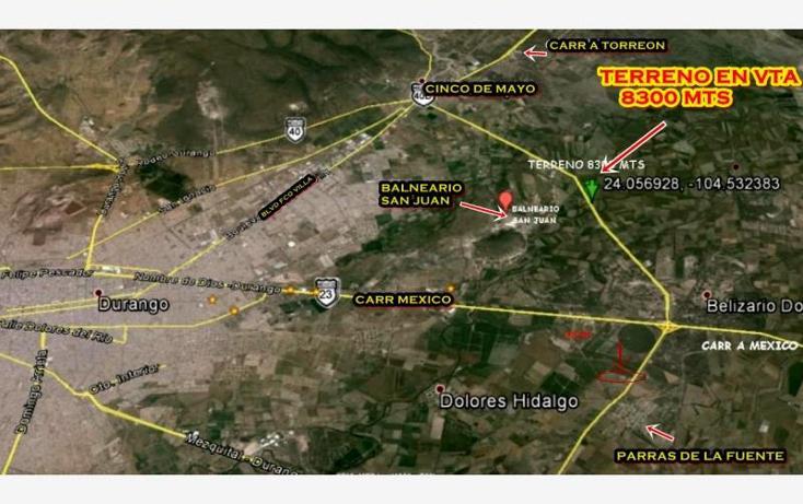 Foto de terreno industrial en venta en  , parras de la fuente, durango, durango, 760845 No. 11