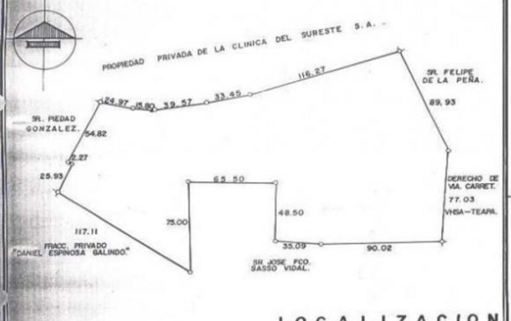 Foto de terreno comercial en venta en  , parrilla, centro, tabasco, 1144441 No. 05