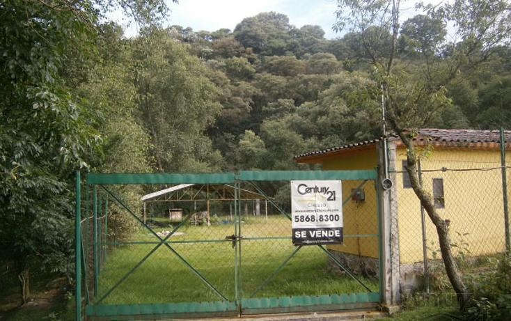 Foto de terreno habitacional en venta en  , cañada de cisneros, tepotzotlán, méxico, 1799001 No. 01