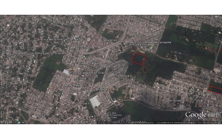 Foto de terreno habitacional en venta en  , paseo de campeche, campeche, campeche, 1556732 No. 01