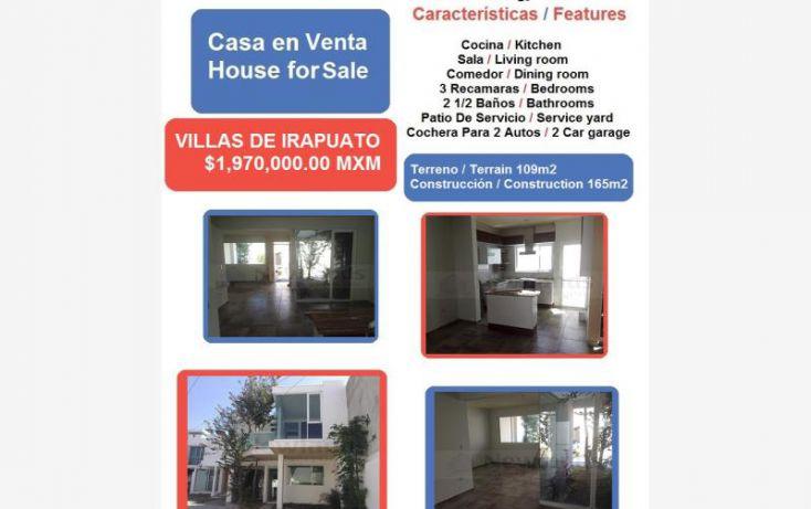 Foto de casa en venta en paseo de la aurora 1, villas de irapuato, irapuato, guanajuato, 1640872 no 01