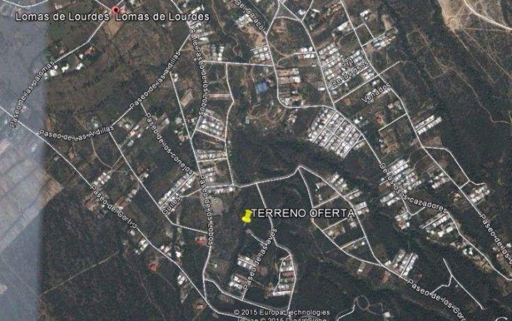 Foto de terreno habitacional en venta en paseo de la aves 100, lomas de lourdes, saltillo, coahuila de zaragoza, 1610770 no 01