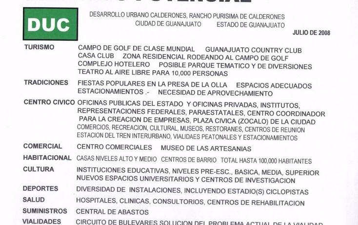 Foto de terreno comercial en venta en  , paseo de la presa, guanajuato, guanajuato, 1177939 No. 05