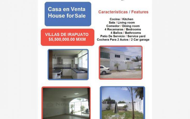 Foto de casa en venta en paseo de la primavera 1, villas de irapuato, irapuato, guanajuato, 1666624 no 01