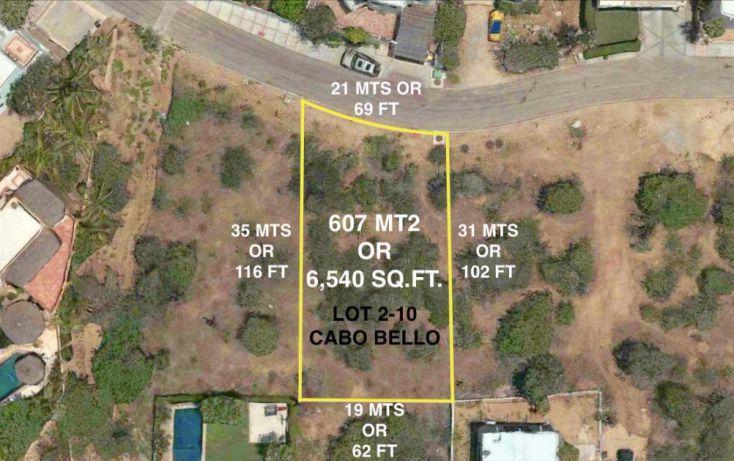 Foto de terreno habitacional en venta en paseo de las misiones lote 210, cabo bello, los cabos, baja california sur, 1775399 no 13