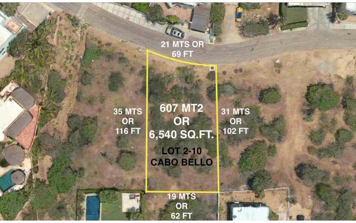 Foto de terreno habitacional en venta en  , cabo bello, los cabos, baja california sur, 1775399 No. 13